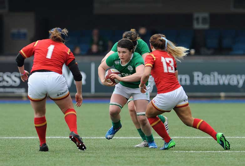 Ciara Griffin firing on all cylinders against Wales - INPHO/Ian Cook