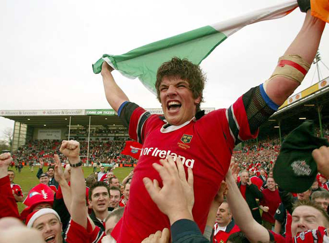 Donncha O'Callaghan Through The Years