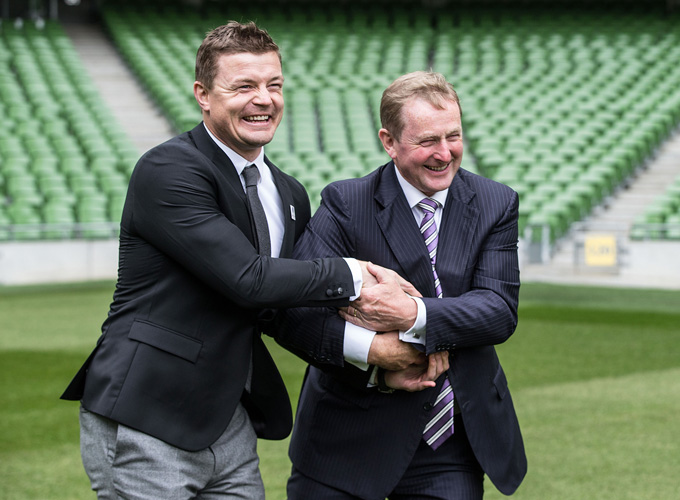 Governments Re-Affirm Support For Ireland RWC 2023 Bid