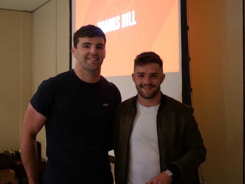 Seán O'Connor and Bill Johnston.