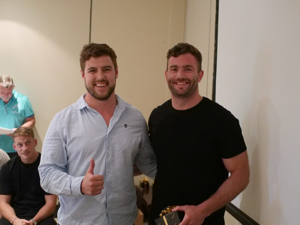 Rhys Marshall and Jaco Taute.