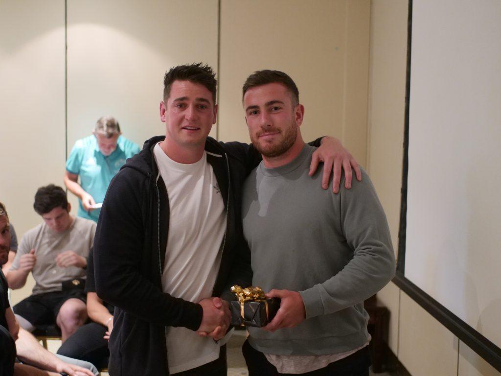 Ronan O'Mahony and JJ Hanrahan.