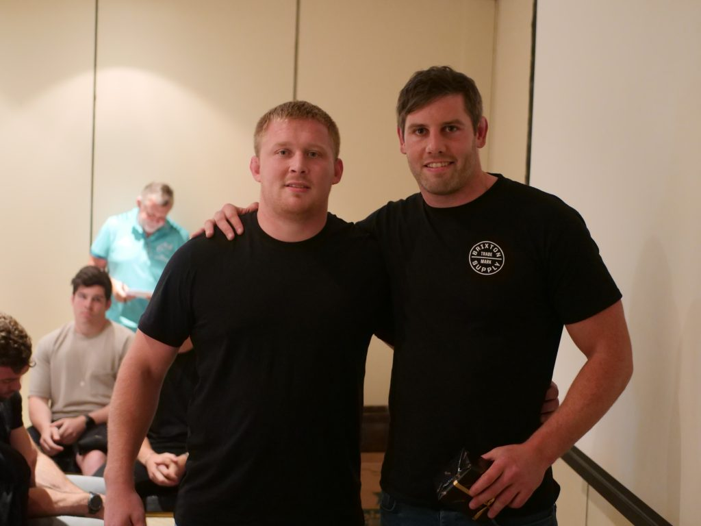 John Ryan and Dave O'Callaghan.