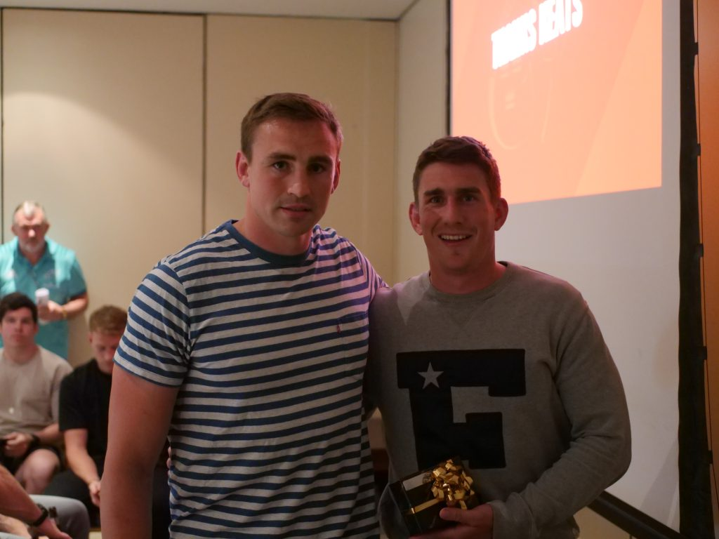 Tommy O'Donnell and Ian Keatley.